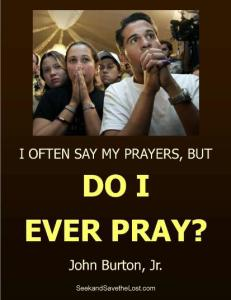 Burton Do I Ever Pray website pic
