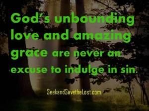 Gods Unbounding Love and Amazing Grace
