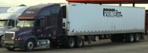 Prime Trucking website pic