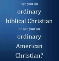 Seek and Save Ordinary Christian