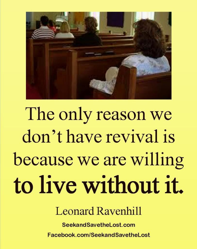 Ravenhill Live Without It