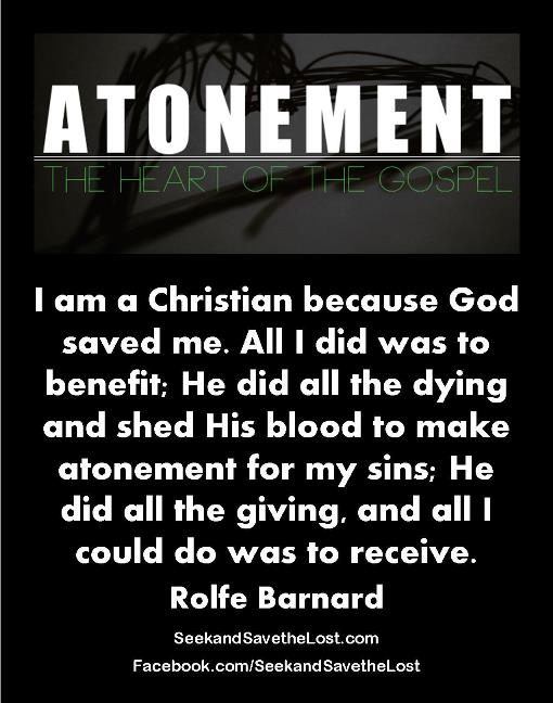 Seek and Save the Lost Barnard I am a Christian