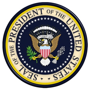 Seal of the President of the United States website pic