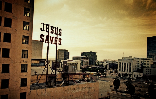 Jesus Saves website pic
